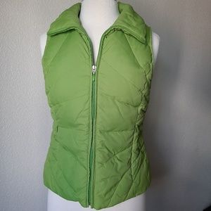 Kenneth Cole Reaction Lime Green Puffer Vest